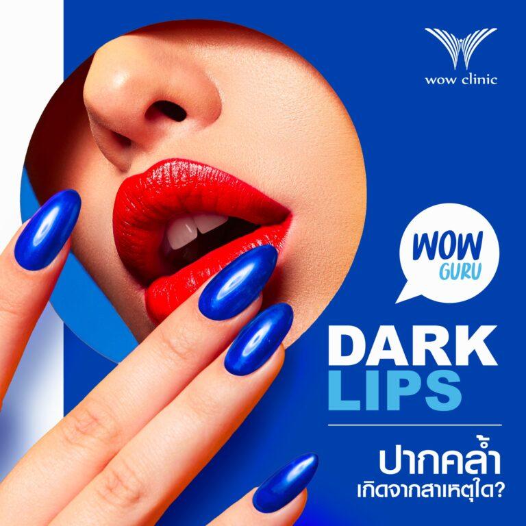 lips ปากดำ ริมฝีปากดำ
