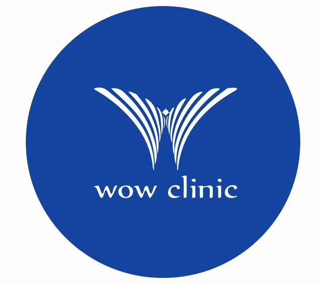 logo wow clinic ว้าวคลินิก โลโก้